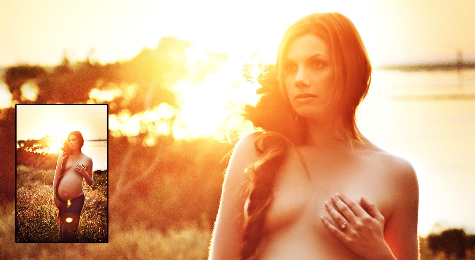Maternity photography by Vixen Photography San