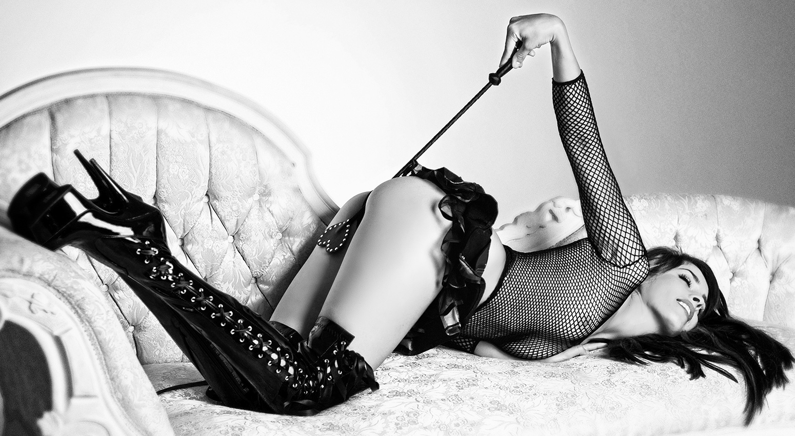 Bondage glamour photography